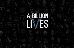 A billion lives webpage
