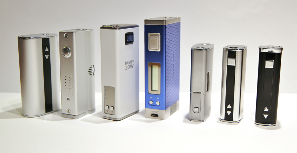 Box mods or personal vaporisers in box format