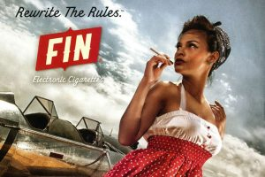 """Fin"" e-cigarette advert"