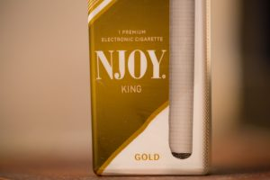 NJOY, the e-cigarette imported by Sottera, LLC.