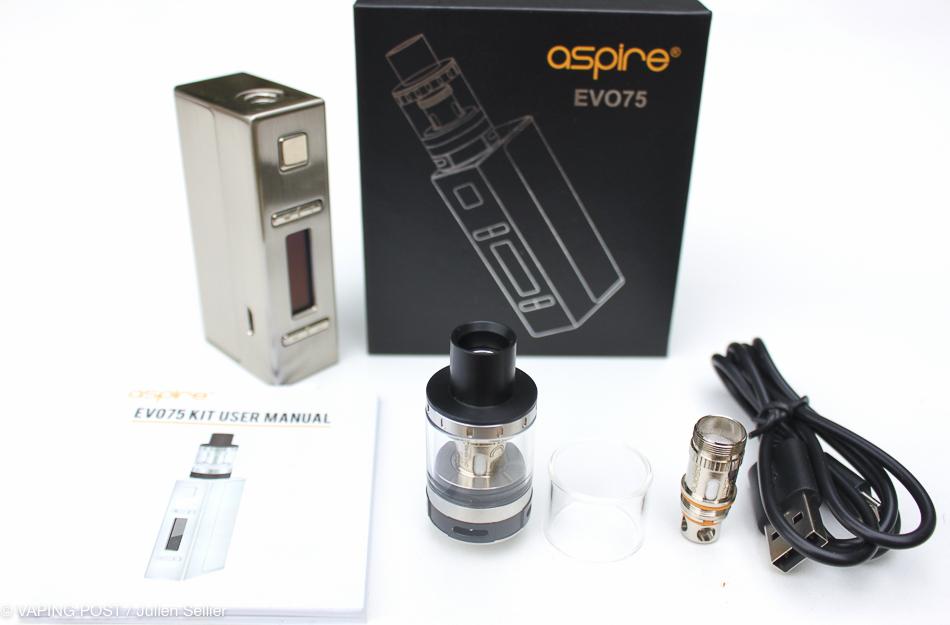 Kit EVO75 – Aspire | Vaping Post