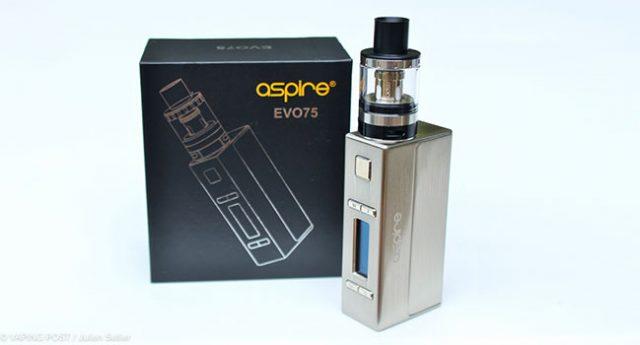 Kit EVO75 – Aspire   Vaping Post