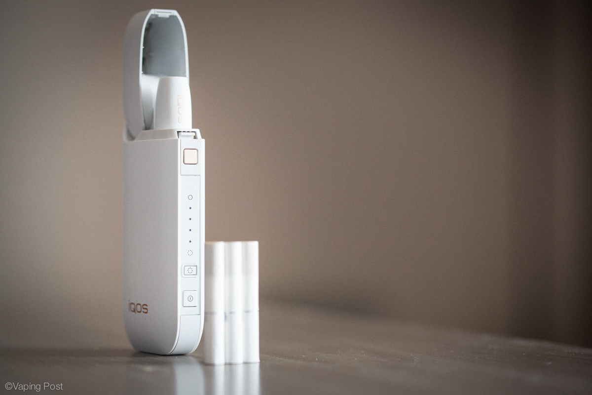 iQOS by Philip Morris International, a HNB cigarette that has been successfully launched on international markets since 2014
