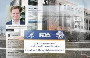 Jim O'Neill as the new FDA chief