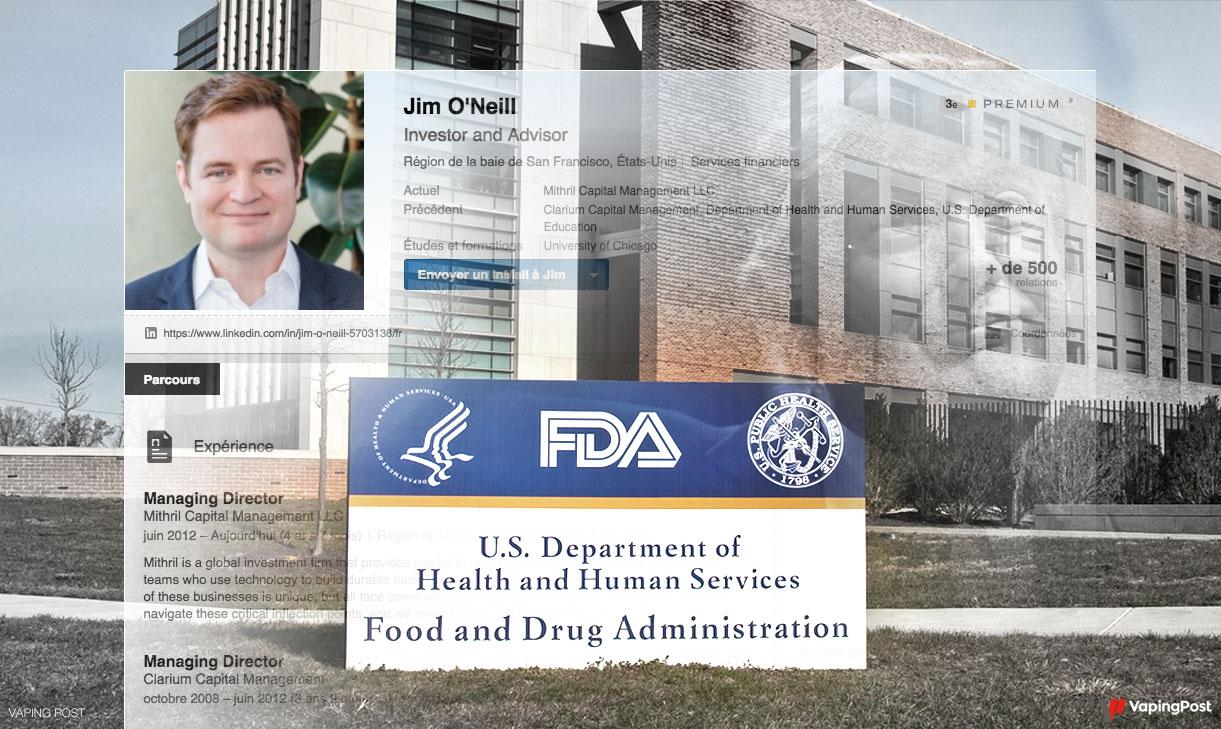 Jim O'Neill as the new FDA chief