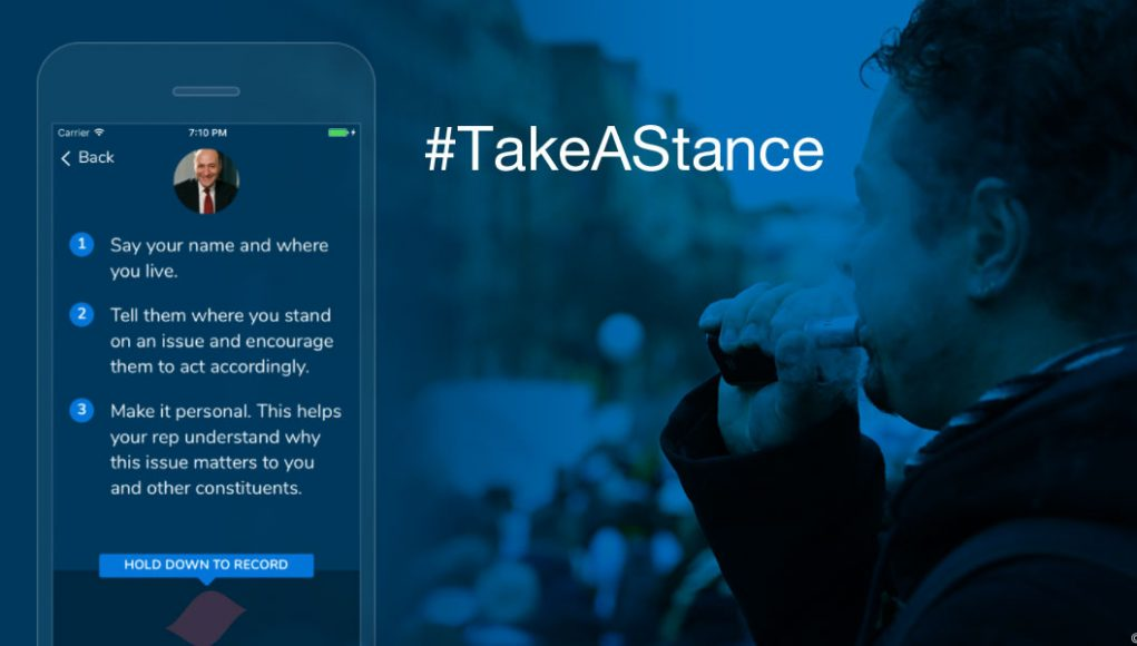 TakeAStance Mobile App