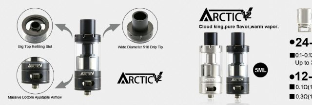 HorizonTech Arctic V12 Tank Review | Vaping Post