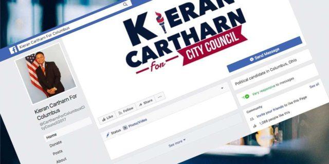 Kieran Cartharn Columbus City Council Candidate Defends Vape Shops