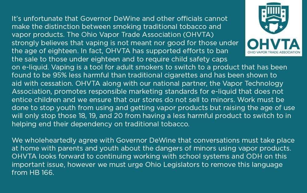 Image of OHVTA Official Statement