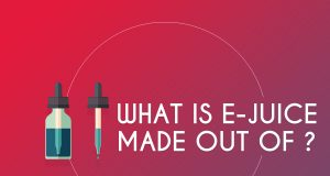 What is e-juice made out of ?