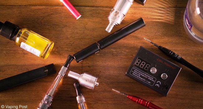 Different e-cigarettes