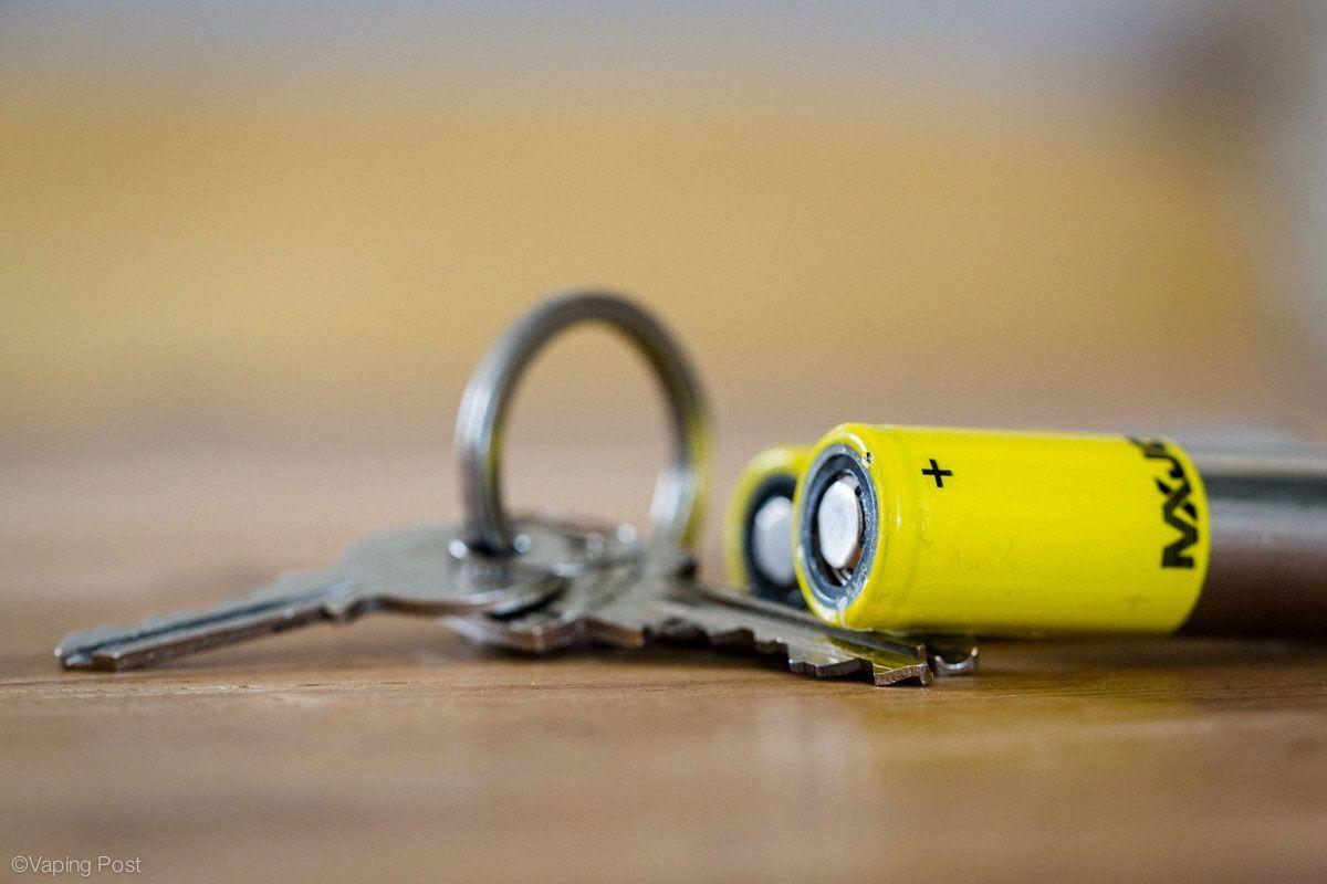 battery near keys