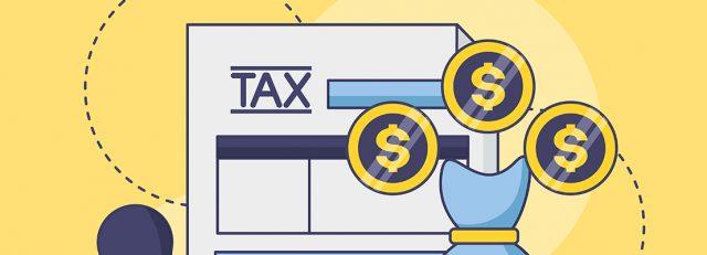 Papier fiscal et pièces de monnaie