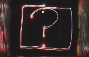 question red mark