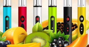 electronic cigarettes with fruits